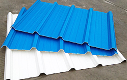 Tôle de toiture   <small>(couverture en tôle UPVC renforcée 3 couches)</small>